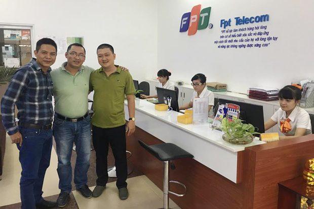 fpt telecom miền tây chào đón 6 giám đốc