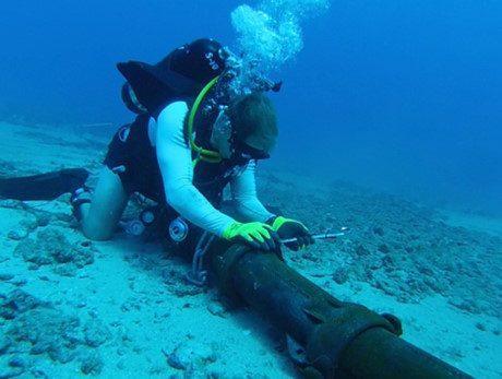mùng 1 tết cáp quang biển mới sửa xong