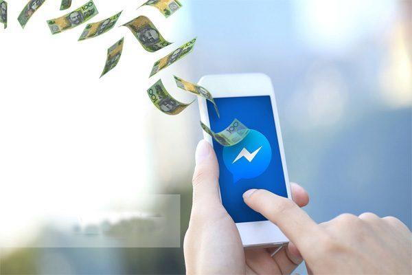 messenger gửi tiền paypal