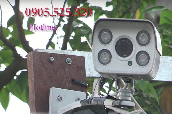 lắp đặt camera hồng ngự