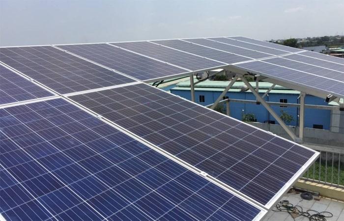 điện mặt trời cao bằng 1