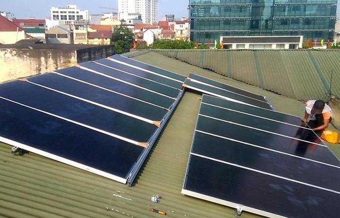 điện mặt trời hà nội 1