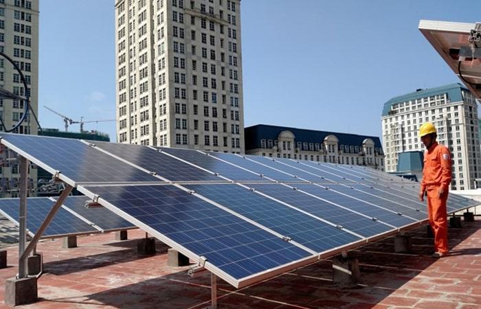 điện mặt trời Hải Phòng