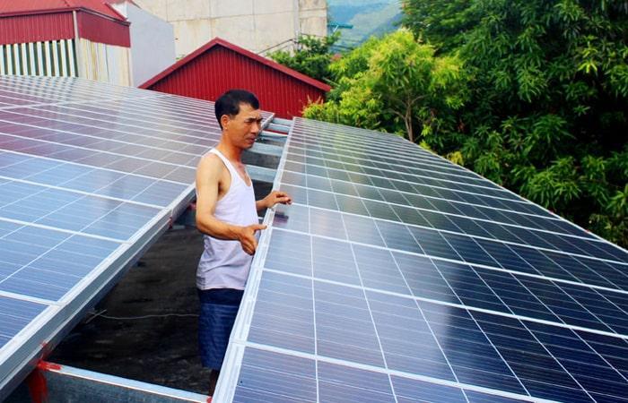 điện mặt trời Hoà Bình