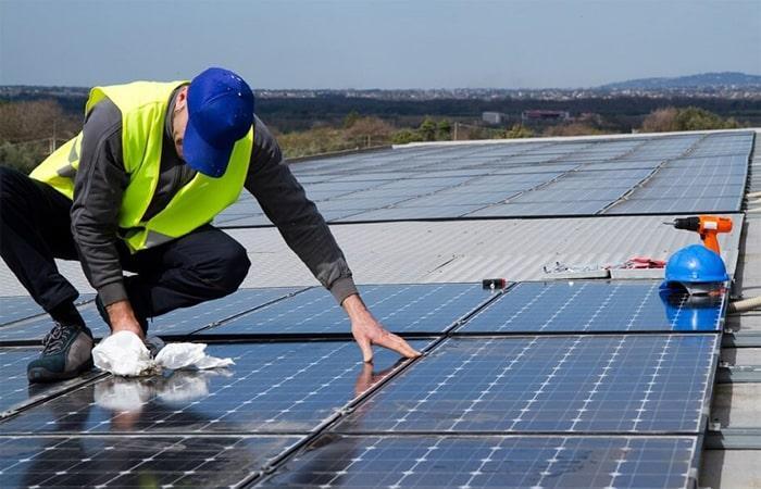 điện mặt trời hoà lưới 1
