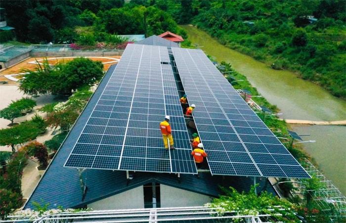điện mặt trời Lào Cai