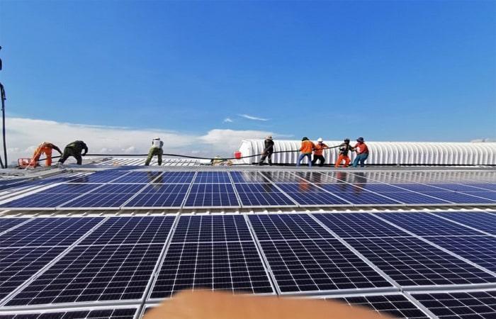 điện mặt trời ninh bình