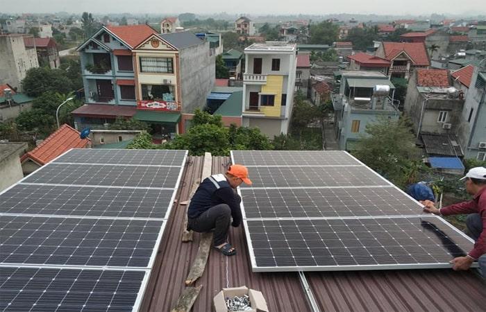 điện mặt trời Quảng Ninh