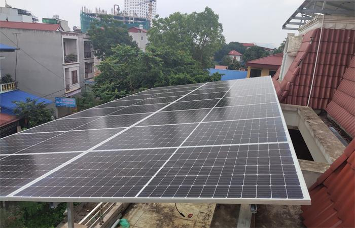 điện mặt trời Thái Nguyên 1