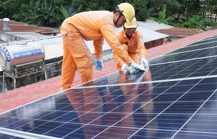 điện mặt trời Thái Nguyên