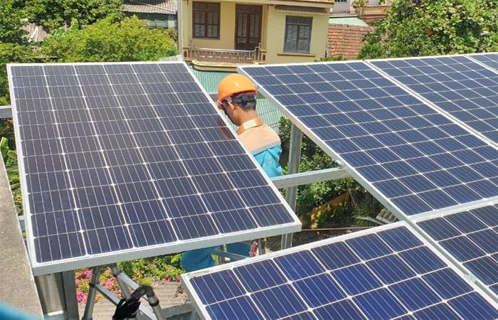 điện mặt trời tuyên quang