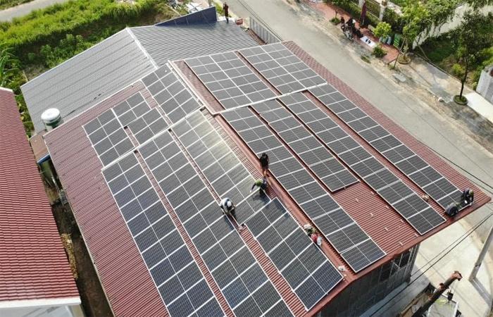 điện mặt trời Yên Bái