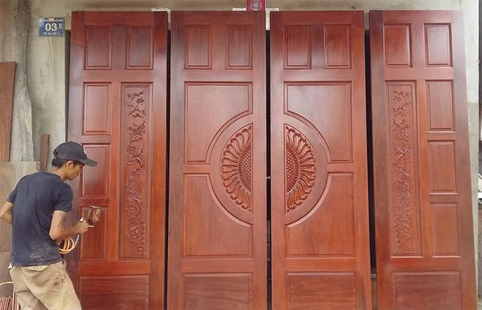 cửa gỗ đẹp 4